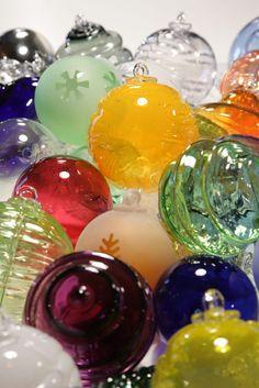 Boules de Noël, Meisenthal, France
