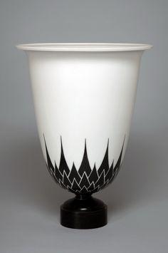 Art deco Ceramique -Vase Ruhlmann-1925