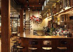 Restaurant italien à New York : ♥ Giovanni Rana Pastificio & Cucina à Chelsea Market, pas donné mais pâtes fraiches délicieuses