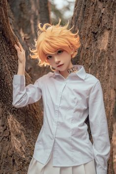 Costume Anime Emma cosplay-The Promised Neverland Kawaii Cosplay, Cosplay Anime, Naruto Cosplay, Cosplay Boy, Epic Cosplay, Cute Cosplay, Cosplay Makeup, Amazing Cosplay, Cosplay Outfits
