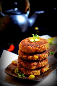CORN CUTLET RECIPE / CORN PATTIES / CORN TIKKI -SWEET CORN RECIPES | Cook With Smile  corn cutlet recipe #cutlet #corn #cornrecipes #indiansnacks