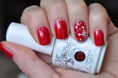 Manicure of the week - Gelish Good Gossip