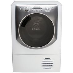 Buy Hotpoint Aqualtis AQC94F7E1M Condenser Tumble Dryer, 9kg Load, A+ Energy Rating, White Online at johnlewis.com