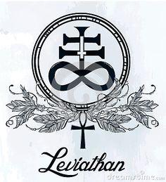 The Satanic Cross Symbol Illsutration. by itskatjas Hand-drawn vintage tattoo art. Vector illustration, The Satanic Cross also known as the Leviathan cross, a variation of the alchem Pagan Symbols, Norse Pagan, Satanic Cross, Vintage Tattoo Art, Cross Symbol, Symbol Tattoos, Vector Pattern, Typography Design, Vector Art
