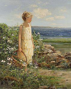 Gathering Wildflowers, Sally Swatland
