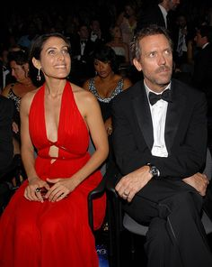 Emmys 2007 with Lisa Edelstein and Hugh Laurie.