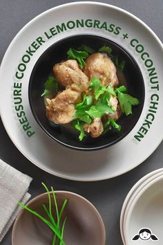 Craving a quick and easy 30 minute Thai inspired dinner? Make my Instant Pot (Pressure Cooker) Lemongrass Coconut Chicken! It's gluten free, keto and paleo friendly Instant Pot Pressure Cooker, Pressure Cooker Recipes, Pressure Cooking, Slow Cooker, Rice Cooker, Paleo Recipes, Dinner Recipes, Asian Recipes, Dinner Ideas