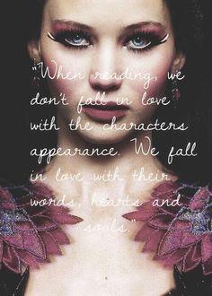 Ao ler, não se apaixone com a aparência do personagem. Nós nos apaixonamos com a palavra, corações e almas. #ooks #life #love