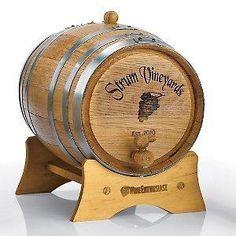 5 liter personalized wine barrel maybe for Grandpa