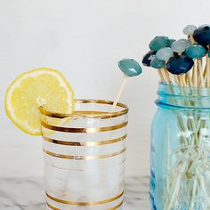 Turn an Old Necklace into DIY Drink Stirrers