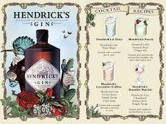 gin hendricks - - Disponível em www.estadoliquido.pt