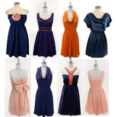 Auburn dresses