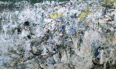 Asger Jorn: Stalingrad, le non-lieu où le fou-rire du courage (Stalingrad, stedet som ikke er eller modets gale latter) (1957-60, 1967, 1972) Oil on canvas, 296 x 492 cm