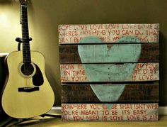 Rustic - All You Need Is Love - Wood Sign - Pallet Art on Wanelo