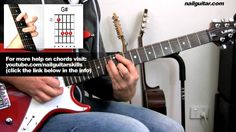 How to play Na Na Na - My Chemical Romance - Guitar Lesson pt.2 - Chords...