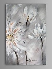 Oil Painting Modern Abstract Flower Hand Painte... – AUD $ 93.09