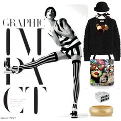 Impact by mirac06 on Polyvore featuring MICHAEL Michael Kors, Hervé Van Der Straeten, Kenneth Jay Lane and Pieces