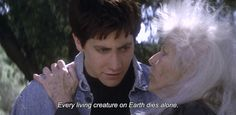 "― Donnie Darko (2001) ""Every living creature on Earth dies alone."""