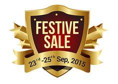 Via Festival Sale Offer : Via 23-25 September Festive Sale Offer - Best Online Offer