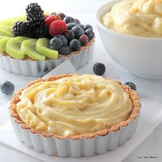 Creamy, dairy-free and sugar-free, this coconut milk pastry cream is perfect for your low carb desserts. I love it in my tarts and on my spoon! Keto Paleo