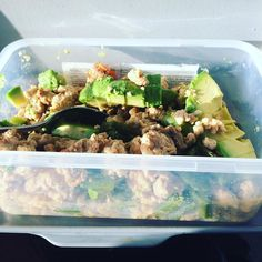 Another meat filled breakfast  turkey mince with sugar snap peas mushrooms and tomatoes. A nice helping of avocado for some fats #90daysssplan #thebodycoach #leanin15 #brekkie #breakfast #thursday #lowcarb #turkey #mince #mushrooms #tomatoes #sugarsnappeas #avocado #lucybeecoconut #lucybeecoconutoil #cyclethree #cleanandlean #cleanandleanwarrior #fitfam #fitforlife #fitlondoners #finalcycle #c3d4 by thetravellingrep