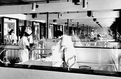 Sint Radboudziekenhuis, Nijmegen, zuigelingenafdeling, 1966.