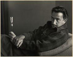 Salvador Dali, Carmel, photo by Johan Hagemeyer, 1944 / at the Met. @Deidré Wallace