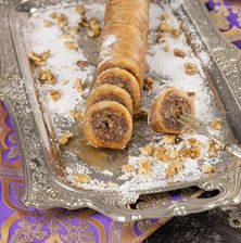 Greek Sweets, Greek Desserts, Greek Recipes, Lebanese Desserts, Baklava Recipe, Food Porn, Bread, Kuchen, Brot