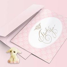 IT'S A GIRL THANK You Card Blue Digital Instant Download #Moonlighting #baby #shower #thankyou #gifts Baby Shower Thank You, Baby Shower Cards, Baby Shower Gifts, Thank You Notes, Thank You Cards, Digital Showers, Romantic Themes, Pink Damask, Girl Shower