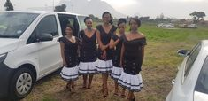 Xhosa bridesmaids