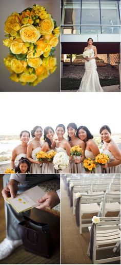 Modern Austin Wedding by Table4Photography | Style Me Pretty