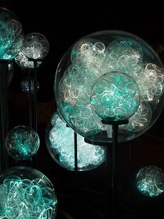 Longwood Lights - Bruce Munro by c.huller, via Flickr