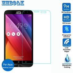 For Asus ZenFone 2 Tempered Glass Screen Protector Film on Ze551ML Ze550ML Deluxe 2E Ze500CL laser Ze500KL Ze500Kg Ze601KL
