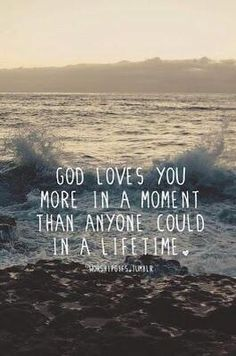 it's crazy to think about this. right now, imagine the people that you love the most in this world. God loves you SO much more than that. I think that's the coolest thing ever Faith Quotes, Bible Quotes, Bible Verses, Scriptures, Qoutes, Quotes Quotes, Encouragement Scripture, Scripture Signs, Godly Quotes