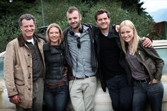 Our big darn #Fringe heroes with the director Jeff T. Thomas! (@Jefftthomas)