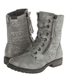 This Army Green Providence Boot is perfect! #zulilyfinds...OMG LOVE LOVE LOVE THESE!