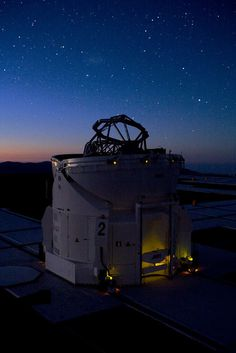 The Auxiliary Telescope 4, part of ESO's Very Large Telescope Interferometer, on Cerro Paranal mountain