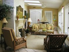 Natural Green - Beach-Inspired Sunrooms on HGTV