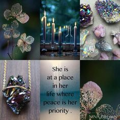 Peace | Nina Brown Beautiful Collage, Beautiful Words, Surfer Decor, Color Collage, Mood Colors, Photo Mosaic, Thought Of The Day, Colour Board, Coordinating Colors