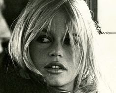 Brigitte Bardot during the filming of A Coeur Joie, 1966.