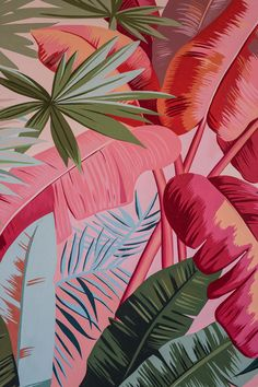 —Inspired by subcultural nonconformity, The Drifter updates midcentury individualism while celebrating local art, hip cuisine, and specialty coffee. Plant Wallpaper, Tropical Wallpaper, Iphone Background Wallpaper, Painting Wallpaper, Colorful Wallpaper, Flower Wallpaper, Floral Wallpaper Iphone, Coral Wallpaper, Floral Pattern Wallpaper