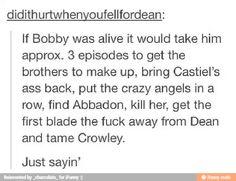 Bobby come back!