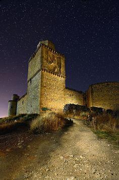 El León de la Torre, Remains of the Castle of Barcience, Toledo, Castile-La Mancha, Spain