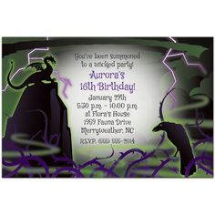 Maleficent Party Supplies!!!