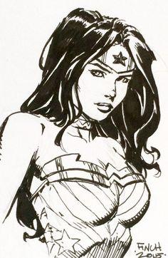 Wonder Woman by David Finch *