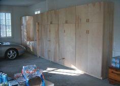 How To Make Your Own Diy Garage Storage Cabinets Shelves Diy Garage