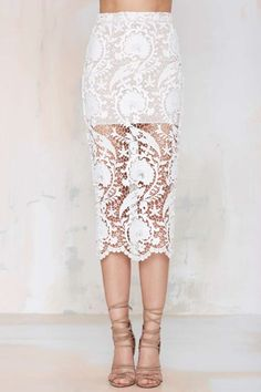 Stone Cold Fox Elliot Lace Skirt - Skirts