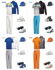 The killer looks Rickie wore at the 2012 The PLAYERS Championship #pumagolf