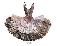 cool paper dress