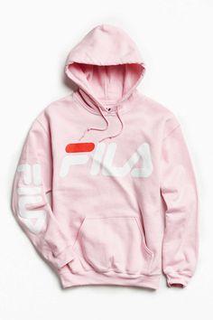 FILA Pink Hoodie
